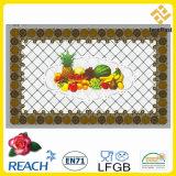 Tablecover transparente plástico para la decoración del hogar/del partido/de la boda (TZ-0018)