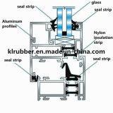 Виды резиновый прокладки запечатывания для двери и окна Kl-A0124