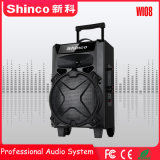 Recargable Inalámbrico Bluetooth Shinco profesional 8''trolley Altavoz exterior