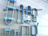 Racor de tubería de alimentación galvanizado u tipo cable tensor tensor de la pinza de anclaje de Hardware
