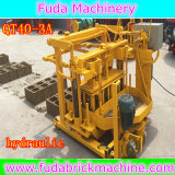 Beweglicher preiswerter kleiner Block des Fabrik-Export-direkt Qt40-3A, der Maschine herstellt