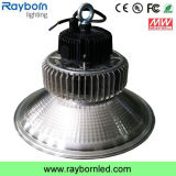 luz industrial de la bahía del colgante LED de 100W Hibay alta para la planta