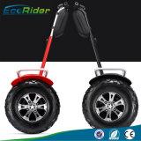 По бездорожью балансировки нагрузки на скутере 4000W 1266wh 72V новый дизайн Ecorider Колесница с электроприводом