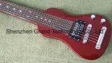 Гавайи портативный мини-хода электрический гитару в красный (ТГ-1)