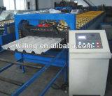 Maquinas de moldagem de rolo de papelão ondulado de metal