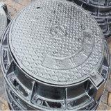 Couvercle de trou d'homme ronde en fonte ductile avec le châssis