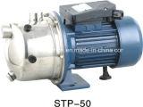 Bomba de água de escorvamento automático elétrica pequena inoxidável do jato da cabeça STP50 da bomba do aço para a agua potável