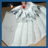 Saco de presente de casamento popular com alça de seda