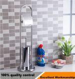 SS304/201 diseño cuadrado Cepillo Sanitario soporte para accesorios de baño