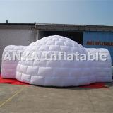 Il tennis gonfiabile di nuovo colore bianco gigante di disegno mette in mostra la tenda