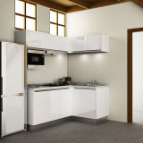 Governi d'angolo della cucina della cucina all'ingrosso delle unità per le piccole cucine