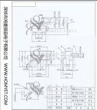 BAD Typ 2pin quadratischer Rücksetzschalter/seitlicher Drucktastenschalter (HY-MPUCX106)