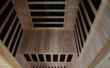 Sauna di legno di sauna portatile della stanza di sauna di Infrared lontano 2016 per 1 gente (SEK-I1)