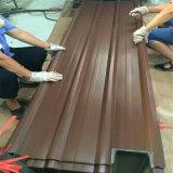 Telhas revestidas de cor/ Telhas de aço galvanizado