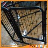 2 Tür-Haustier-Draht-Rahmen mit ABS Wanne