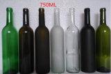 熱い販売の顧客はガラス明確なワイン・ボトルを作った