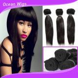 チョコレート毛のまっすぐな編むナイジェリアのベストセラーの人間の毛髪の拡張