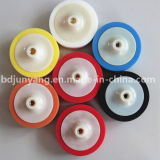 Facile e semplice trattare la rotella naturale del tampone a cuscinetti per lucidare della spugna
