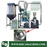 fresadora plástica dura del PVC 150-200kg/H con la lámina de rotor