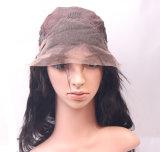 Das mulheres retas de seda de seda brasileiras humanas do laço do preço de fábrica peruca cheia do laço