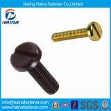 Parafusos de máquina do aço de carbono DIN85/parafusos de máquina chapeados zinco