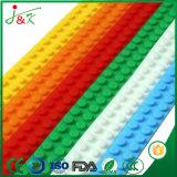 ブロックテープ多色刷りのシリコーンの造りのおもちゃ(再使用可能な3Mの接着剤)