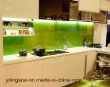 Refoulement de la cuisine de haute qualité en verre trempé
