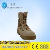 Alte calzature di funzionamento antisdrucciolevoli di assorbimento di scossa dei pattini di sicurezza della caviglia