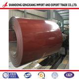 Resistenza della corrosione d'acciaio tuffata calda della bobina PPGL di Alzn (55%Al) Prepianted