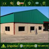 Edificio/almacén prefabricados de la construcción de la estructura de acero del precio bajo
