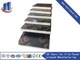 18mm Negro/marrón Film frente marítimo de contrachapado de madera contrachapada/fenólico contrachapado de madera contrachapada/Encofrados/Construcción de madera contrachapada de