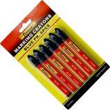 6PCS 비독성 방수 표하기 크레용 마킹 펜 마커 파랑
