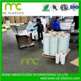 Film/feuille de PVC employée couramment dans le revêtement, s'enveloppant. Empaquetage