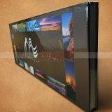 Impression de livre de photographie de livre de livre À couverture dure de livre de grand format