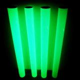 Resplandor en la película fotoluminiscente adhesiva oscura para la seguridad
