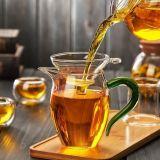 Стеклянный фильтр стекла чая чашки чая комплекта чая стеклянный