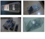 Оцинкованный каркас ловушки белка, Cat / Кролик/ собак/ловушки животных отсека для жестких дисков