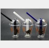 De Waterpijp van het glas voor de Waterpijp van de Terugwinning van de Filter van het Blad van het Metaal