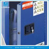 Голубой кисловочный въедливый жидкостный шкаф хранения безопасности