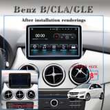 Carplay Benz Cla/B 2DIN Auto Stereo-Video des GPS-Navradio Video-Player-DVD 3G WiFi in Gedankenstrich-Geräten W GPS
