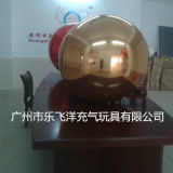 تصميم جديدة قابل للنفخ [2م] أحمر مرآة كرة لأنّ خارجيّة يعلن