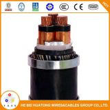 11kv 3 Core 50mm2 95mm2 cabo subterrâneo