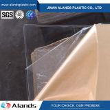 Hoja plástica clara transparente de acrílico