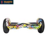 Balance auto eléctrico patineta Hoverboard de 10 pulgadas con batería de Samsung
