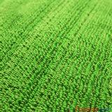 Microfiber vert frottant la lavette à plat humide avec la poche