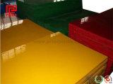 Gele HDPE Plaat met 0.5100mm Dikte