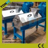Одиночный отход волокна кассавы давления винта Dewater машина с нержавеющей сталью SUS304