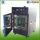 El horno industrial de calefacción limpia las máquinas