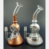 Tubo del humo de la calabaza del oro y de la plata