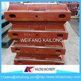 Equipo de la fundición del rectángulo de la arena de la máquina de bastidor de la alta calidad que moldea